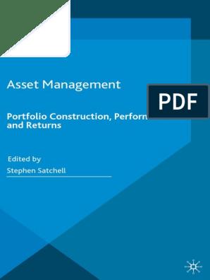 Asset Management - Portfolio Construction, Performance and