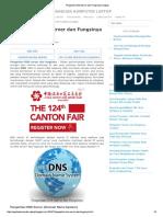 Pengertian DNS Server