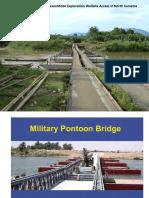 Floating Pontoon Bridges