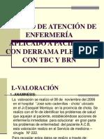 Proceso de Atención de Enfermeria Don Derrame Pleurak