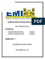 Elements Used in the Field Analysis System