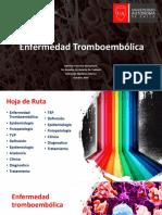 Enfermedad Tromboembolica TVP-TEP