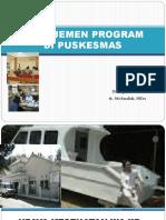 Materi 3-Manajemen Program Di Puskesmas