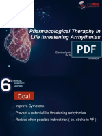 8. Pharmacological Therapy in Life Threatening Arrhythmia