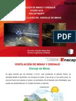Ventilación de Minas y Drenaje - Conceptos Claves Del Drenaje de Minas