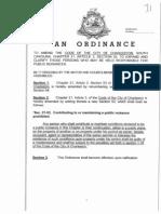 Nuisance Ordinance