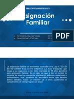 Asignación Familiar- Relaciones Industriales