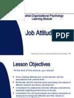 Job Attitudes