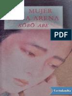 La Mujer de La Arena - Kobo Abe
