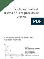El Monopolio Natural y El Dilema de La Regulación