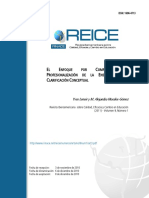 El Enfoque Por Competencias y La Profesionalización de La Enseñanza Ccesa007