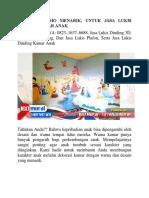 Jasa Lukis Dinding Kamar Anak, Nikmati Promo Menarik