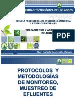 Protocolos y Metodologías de Muestreo de Efluentes