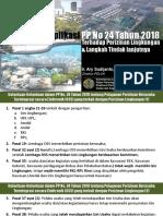 Proses Amdal Dan UKL UPL Berdasarkan PP 24 Tahun 2018 OSS 30 Juni 2018