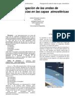 Informe de Radiocomunicaciones Sobre Propagacion de Ondas de Radiofrecuencias en Las Capas Atmosfericas