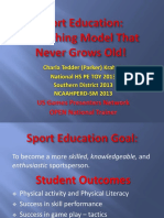 sport education 2018 ppt