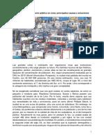 El Problema Del Transporte Publico en Lima Principales Causas y Soluciones
