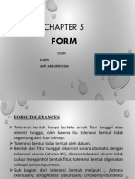 Chapter 5 Form