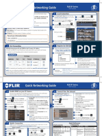 FLIR IP-SERIES Quick Networking Guide