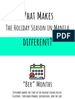 What Makes The Holiday Season In Manila Different?