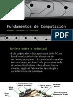 Fundamentos de Computación Hardware