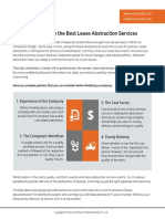 4 Tactics to Choose the Best Lease Abstraction Services - SunTec India