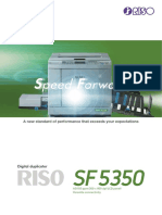 SF5350 Duplicator - 150 Pages Per Minute (A3 Format)