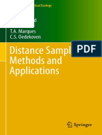 (Methods in Statistical Ecology) S. T. Buckland, E.a. Rexstad, T.a. Marques, C.S. Oedekoven (Auth.)-Distance Sampling_ Methods and Applications-Springer International Publishing (2015)-1