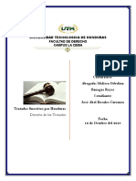 Tratados Suscritos Por Honduras