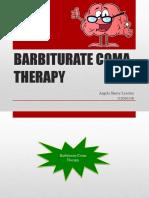 Barbiturate Coma Therapy.pptx