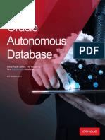 Autonomous Database Self Driving 5116034
