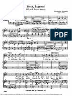 PietaSignore High Voice in D Minor a.scarlatti Parisotti Schirmer PD 6pp