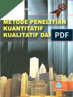 Buku Metode Penelitian Sugiyono