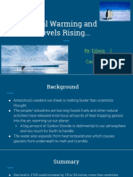 global warming and sea levels rising