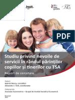 Indicatori de Măsurare a Eficienţei Serviciilor Destinate Persoanelor Adulte Cu Dizabilităţi Mentale