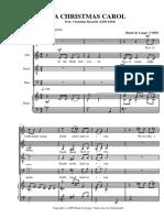 A CHRISTMAS CAROL Piano2h Version (Huub de Lange)