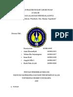 Laporan Praktikum Ilmu Lingkungan Acara 3