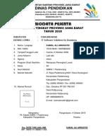 Biodata Peserta LKS SMK Tahun 2018 - SMKN 1 Padaherang