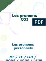 Les Pronoms COI