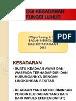 21680_fisiologi Kesadaran Dan Fungsi Luhur - Edit