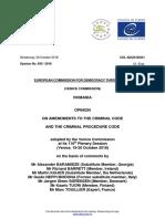 Comisia Venetia Codurile Penale