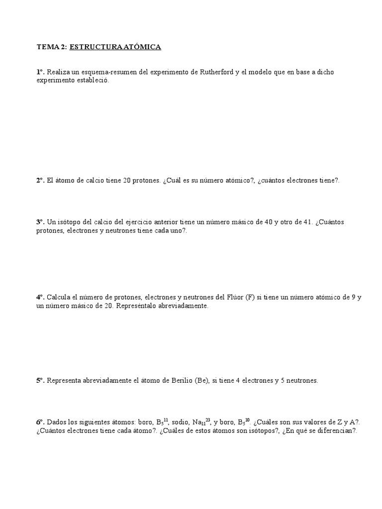 Tema 2 Fisica Y Quimica