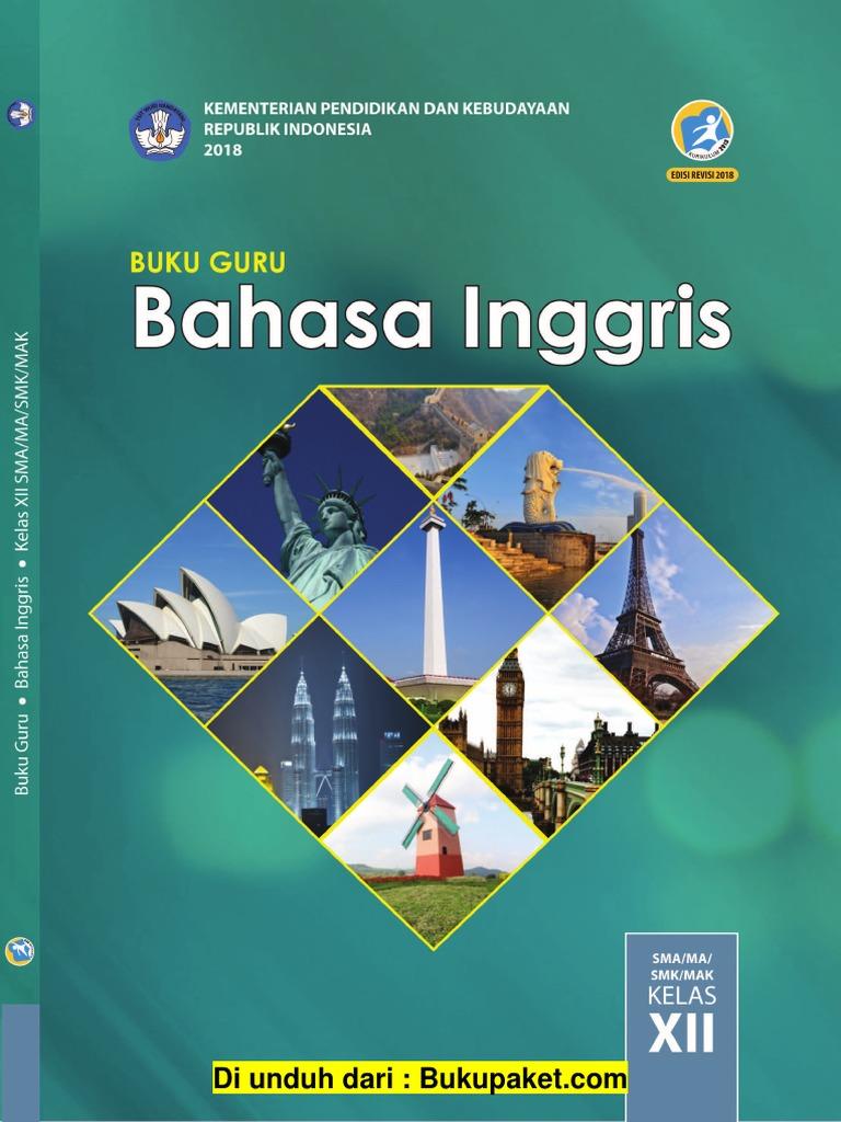 Buku Guru Bahasa Inggris Kelas 12 Edisi Revisi 2018