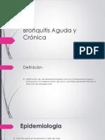 Bronquitis Aguda y Crónica