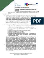 EaP CSF EU4Innovation Position Paper