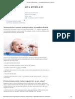 Schema de Diversificare a Alimentatiei Bebelusului _ Copilul