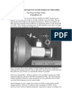 A Filter for the Dual-band 10 & 24 GHz Feedhorn for Offset Dishes