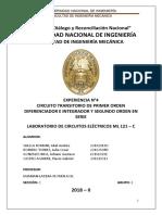 informe N°4 primer y segundo orden