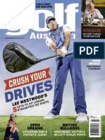 Golf Australia Feb 2018, Lee Westwood Crush Your Drive