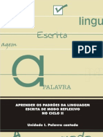 Aprender Padroes Lingua Escrita Modo Reflexivo Parte I Prof